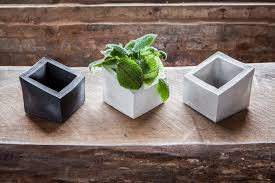 Fascinating Images Of Modern Concrete Planters For Garden Decoration Ideas  : Fetching Picture Of Accessories For ...