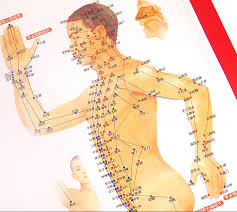 Us 3 11 11 Off Standard Meridian Acupuncture Points Chart And Zhenjiu Moxibustion Acupoint Massage Chart For Head Hand Foot Body Health Care In