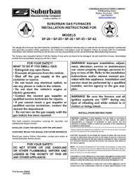 appliances documents com rv thumbnail of sf 20 25 30 35 42 furnace suburban furnace suburban install
