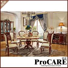4pcs dining room set furniture unique design brand and high quality carving style dining table set dining room furniture