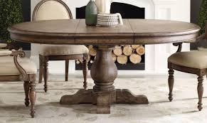 contemporary rustic round dining table with leaf dining room table leaves built in leaf oajtnmh