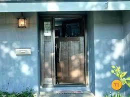 dutch front door dutch front door black design home craftsman fiberglass with sidelight installed in orange dutch front door