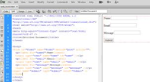 Dreamweaver Website Templates Classy Dreamweaver Email Form Tutorial