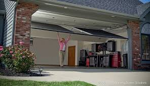 when you re done enjoying the great outdoors simply retract your lifestyle garage screen system and close your garage door as usual it s just that easy