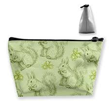 Portable Cute Fluffy Squirrels And Nuts Trapezoidal ... - Amazon.com