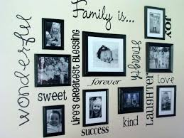 family frames wall decor family frames wall decor as diy wall decor