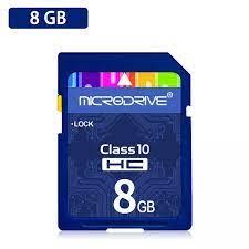 Thẻ SD Class 10 Thẻ Nhớ 8GB 16GB 32GB 64GB 128GB Dành Cho Máy Ảnh Canon