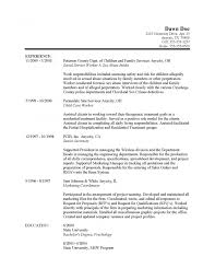 Resume Templates Social Work