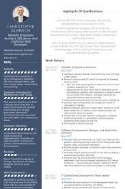 Free Real Professional Resume Samples Visualcv