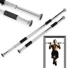 Us 25 16 21 Off Pull Up Bar High Quality Sport Equipment Home Door Exercise Fitness Equipment Workout Training Gym Size Adjustable Chin Up Bar In