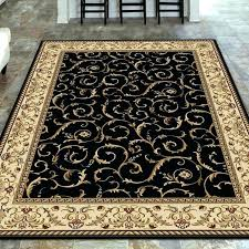black area rugs 5x7 and white 8 x rug