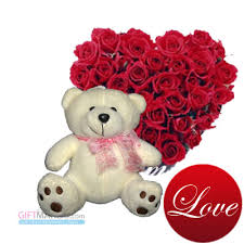 white teddy bears with hearts and roses. Contemporary White White Teddy Bears With Hearts And Rose  Photo4 Intended Teddy Bears With Hearts And Roses R