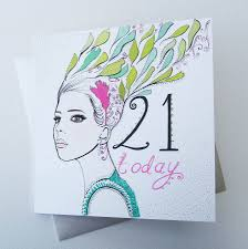 printable 21st birthday cards card design ideas prodigous woman 21st birthday card hair today