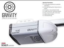 chain drive vs belt drive garage door openerChain Drive Vs Belt drive Gravity Garage door opener 9367 Operator