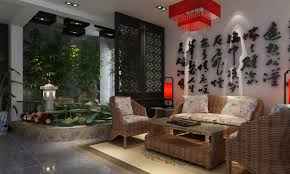 oriental bedroom asian furniture style. Hovering Oriental Living Room With Rattan Chairs And Chinese Wall Art For Asian Interior Design Style Bedroom Furniture M