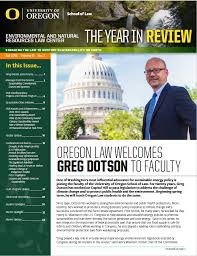 News Letters Enr Center Newsletters University Of Oregon School Of Law
