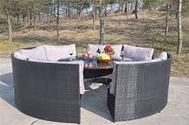 the rattan garden furniture range is