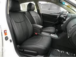clazzio car leather seat covers for scion 2016 2017 tc black color