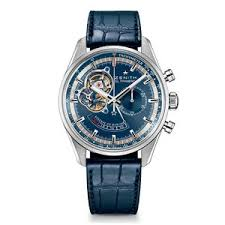 men s zenith watches beaverbrooks the jewellers zenith el primero chronomaster power reserve automatic chronograph men s watch