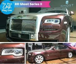 rolls royce ghost series ii now in india