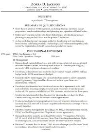 proper job resume entry level resume summary example of summary in resume