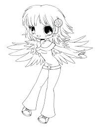 Cute Anime Coloring Pages Cute Drawing Coloring Page Cute Anime Girl