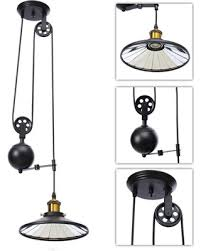 Adjustable light fixture Stainless Steel Ac110240v E27industrial Vintage Chandeliers Pulley Light Pendant Lighting Fixture Adjustable Wire Retractable Better Homes And Gardens Winters Hottest Sales On Ac110240v E27industrial Vintage
