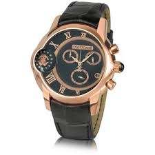 cool cavalli watches polyvore roberto cavalli caracter men s dual time chronograph watch