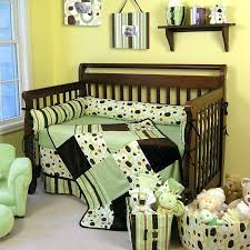 nursery crib sets nursery bedding sets the trend lab giggles 4 piece crib bedding set is