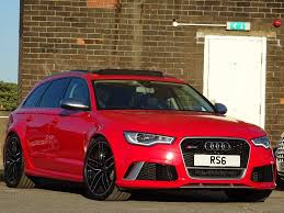 Used Audi Rs6 Avant Estate 4.0 Tfsi Tiptronic Quattro 5dr in ...