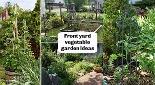 front yard vegetable garden ideas grow