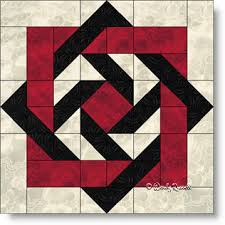 Slip Knot Quilt Block Pattern · My Essential Passions & Slip Knot quilt block Adamdwight.com