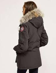 ... Billig Canada Goose Montebello Parka Jacke Blau Für Damen Online  Bestellen