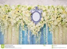 Backdrop For Wedding Stock Photo Image Of Background 83461974