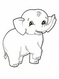 baby animal coloring pages 8 q free printable elephant coloring pages for kids