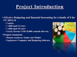 Project On Family Budget For A Month Family Budget Project Kinjal Zaveri