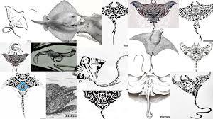 значение тату скат манта клуб татуировки фото тату значения эскизы