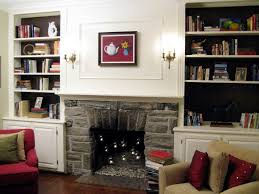 Fireplace Built Ins Bookcases Around Fireplace Corner Bookcases Fireplace Light