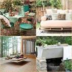 Идеи мебели для дачи