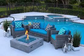 modeno roca concrete propane fire table