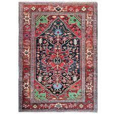 serapi antique heriz rug for