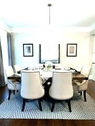 s round dining table rug ideas