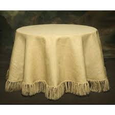 96 round table cloth burlap round tablecloth fringed 54 x 96 tablecloth 96 inch round linen