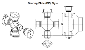Spicer U Joint Chart Find 1760 Series Dana Spicer Universal Joints At Dennys