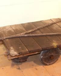 reclaimed original antique victorian slingsby trucks trolley coffee table warwick reclamation