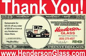 promotion henderson glass