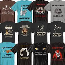 Coole Witzige Lustige Sprüche Fun T Shirt Zum Thema Hunde Katzen