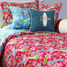 Surfer Girl Comforter Set by Surf Designer Dean Miller & Surfer ... Adamdwight.com