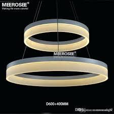 led ring chandelier whole led pendant ring chandelier light modern led ring suspension light globe