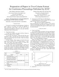 Ieee Format For Research Paper Doc Floss Papers